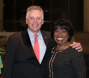 Governor Terry McAuliffe & Dr. Pamela Hammond