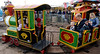 Bob Raines--Montgomery Media<br /> Families ride on the Old Timer choo-choo at the Harleysville Fair May 22, 2015.