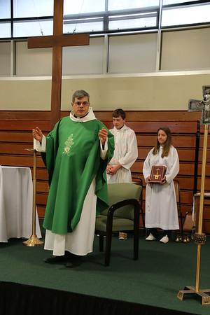 2015 Homecoming Mass