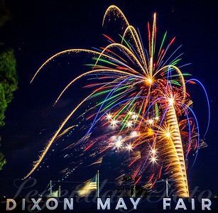 4th of July Fireworks at the Dixon Fairgrounds 2015