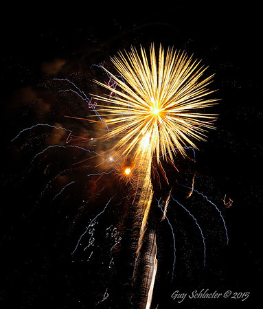 2015 July 4th Fireworks Lincolnshire, IL