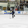 Jr. Steelheads Victor Carlsson (17) has the stick loaded as he fires the puck towards the Wolverines goal during Friday's game in McCall.