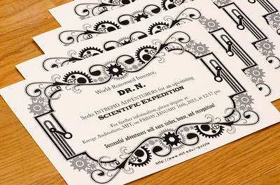 The invitations that were sent to teams before Hunt.