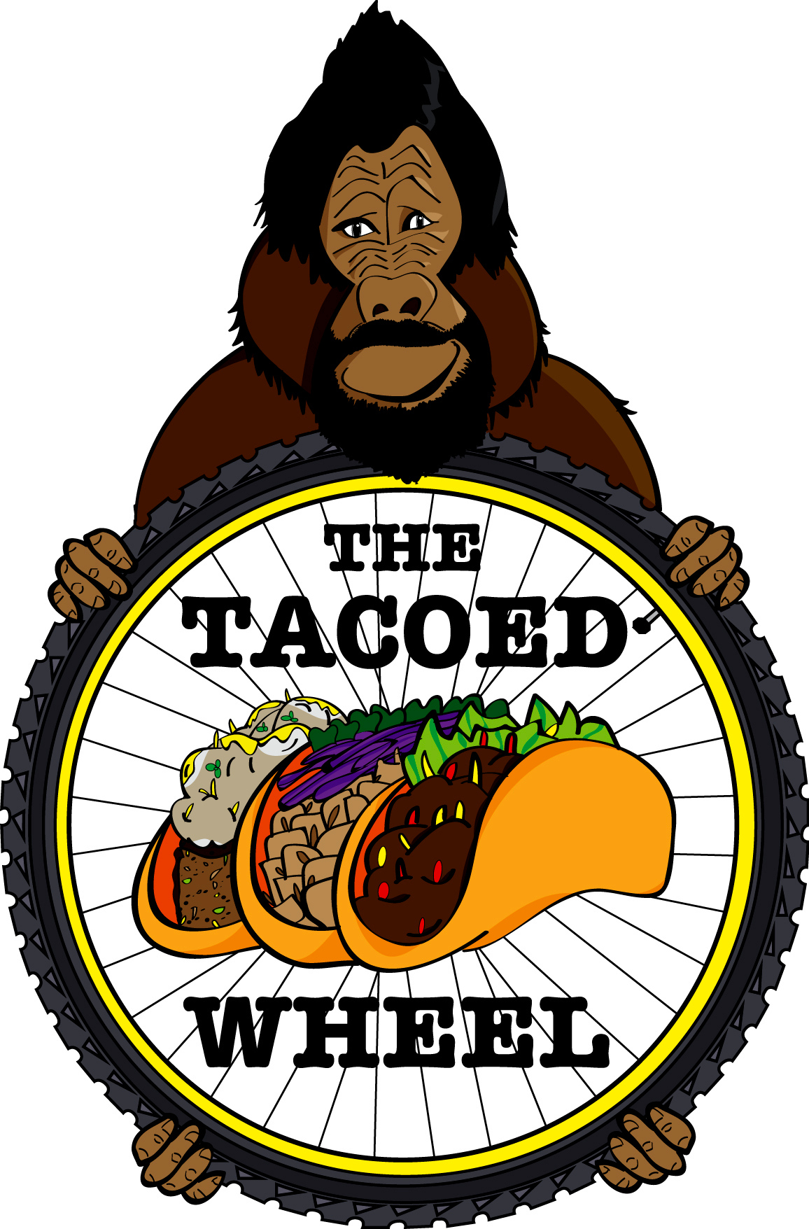 The Tacoed Wheel.  Mobile Bike Repairs. www.thetacoedwheel.com