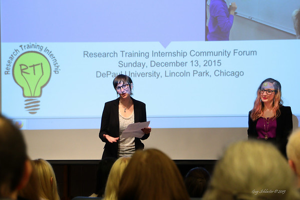 2015 RTI (Research Training Internship) JUF DePaul