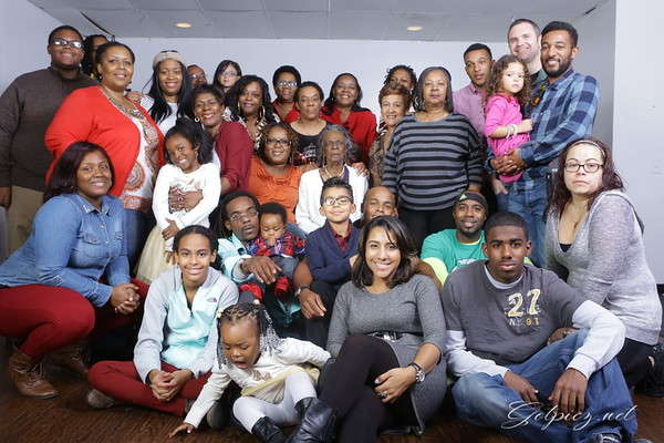 Roach Family Thanks Giving 2015  Dinner Party