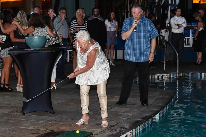 2015 Ron Jaworski Celebrity Golf Challenge Pairings Party at Harrahs's Resort in Atlantic City on June 14.