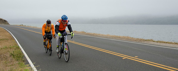 Aron Mason, Bill Brier; Tomales Bay