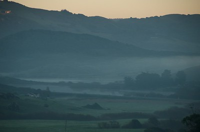 Nicasio Valley in first morning light