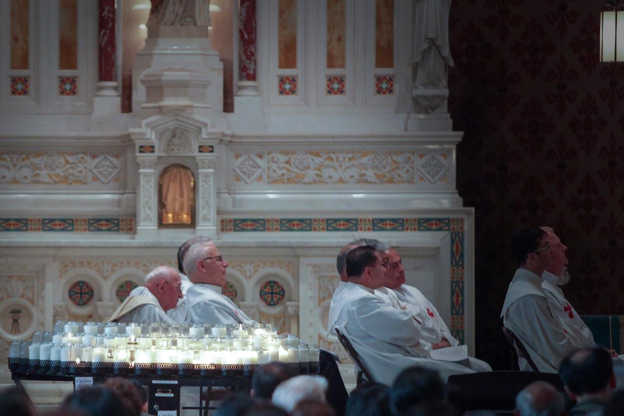 Fr. Mario Rosso, SDB celebrates 75 years of priesthood.