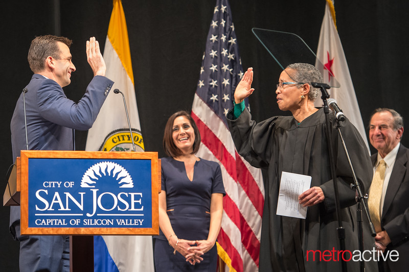 January 6, 2015 Inauguration of San Jose Elected Officials