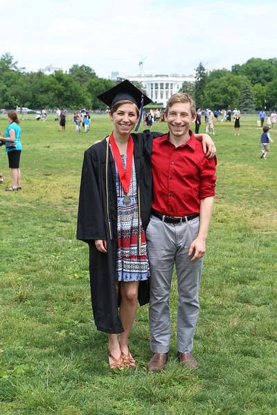 Sarah C. Otis - GWU Graduation 2015-05-17