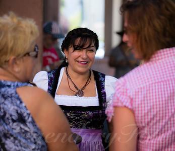 Martina at Oktoberfest 2015