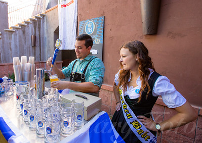 Michael and Victoria Working Oktoberfest 2015