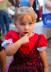 Lena at Oktoberfest 2015