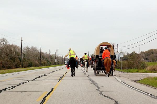 20150224 Trail Riders @ Rosharon, TX