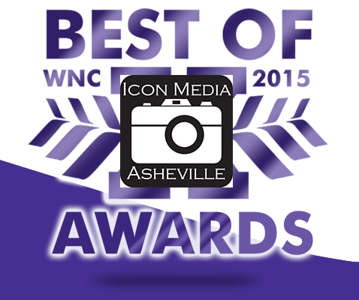 Vote Icon Media Asheville as you favorite photographer at Mountain Express.com.