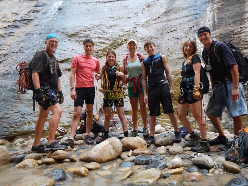 2015 Zion National Park Canyoneering