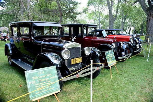 2015 Wills Ste. Claire Automobile Reunion & Art Show in the park, Marysville, MI