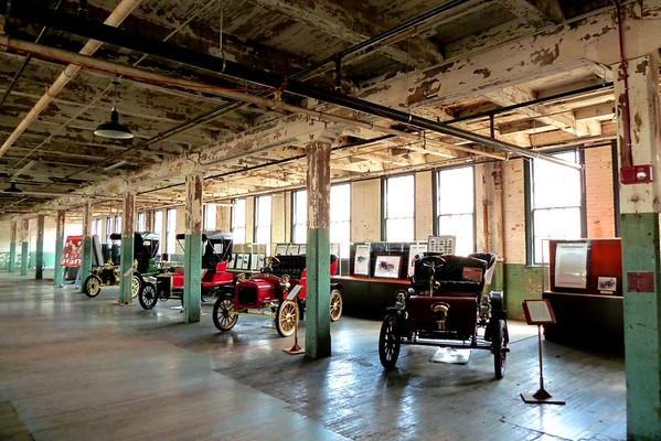 2015 Wills Ste. Claire Auto Reunion visits Ford Piquette Plant