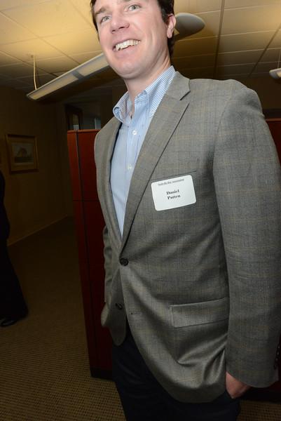Reception for NBA President Ed Lanquist