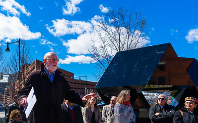Donald Tellalian, designer and architect of the Abstract Sculpture and Armenian Heritage Park