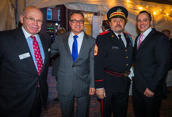 From the left, Robert Beal, Sal LaMattina, Donato Frattaroli and Aaron Michlewitz