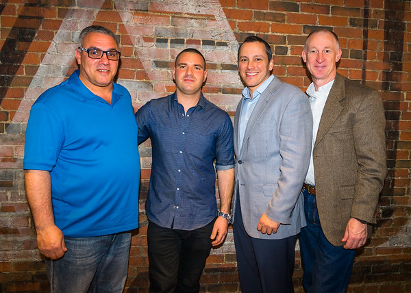 Stephen Perez Sr., Matthew Imbergamo, State Rep. Aaron Michlewitz and Brian Reeves