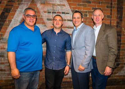 Stephen Perez Sr., Matthew Imbergamo, State Rep. Aaron Michlewitz and Brian Reeves