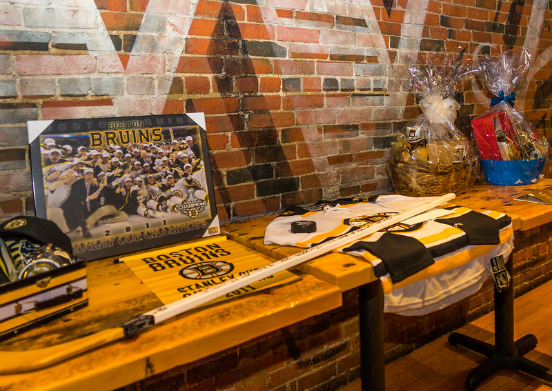 Highly sought raffle items