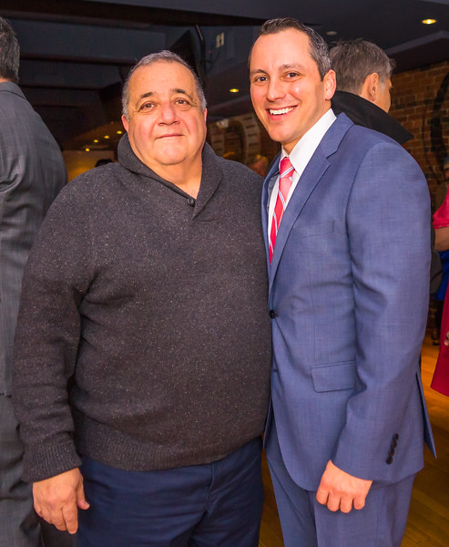 Gerry Moretti and State Rep. Aaron Michlewitz