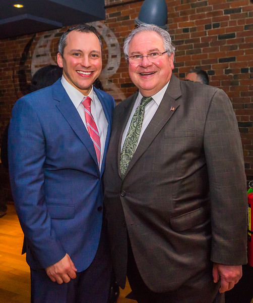 State Rep. Aaron Michlewitz and House Speaker Robert DeLeo