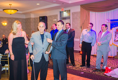 "Salvatore ""Chickie"" Trovato accepts Lifetime Achievement Award"