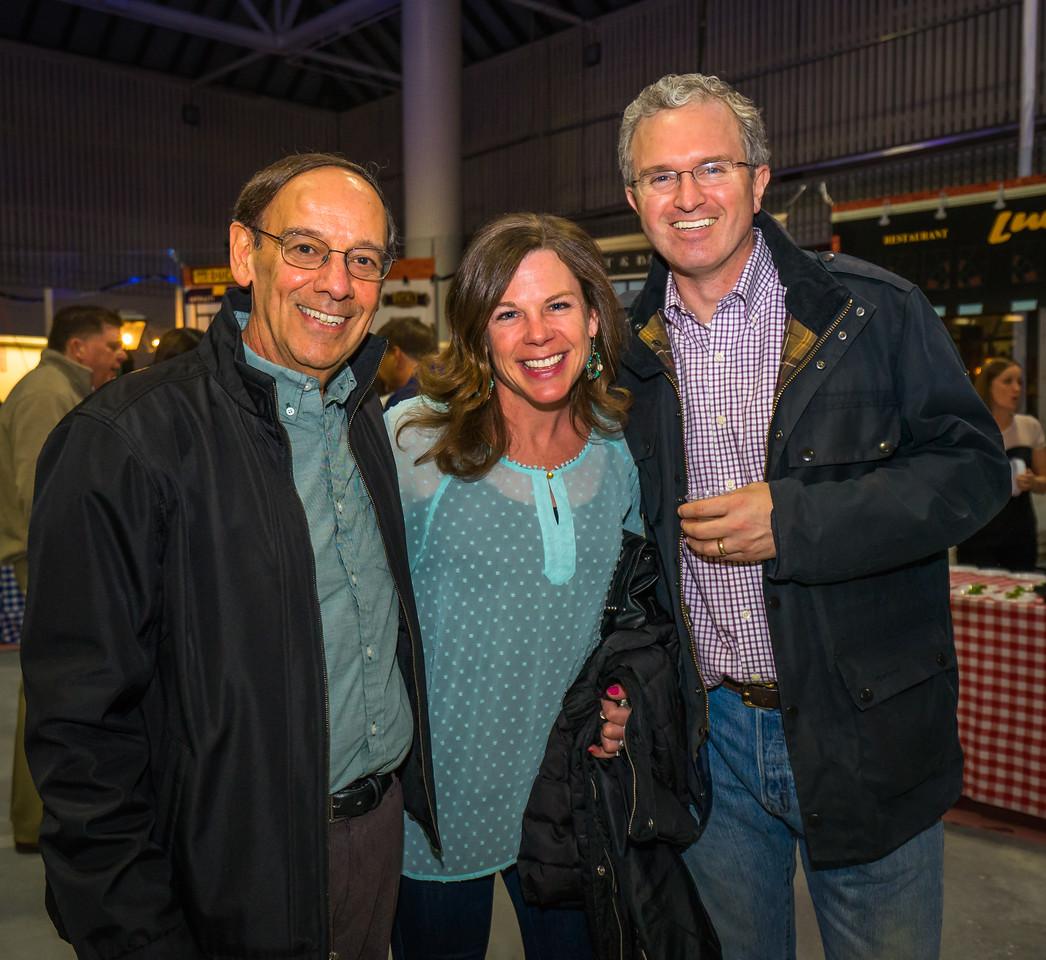 Joe, Melanie and Jim enjoy the 2015 TONE