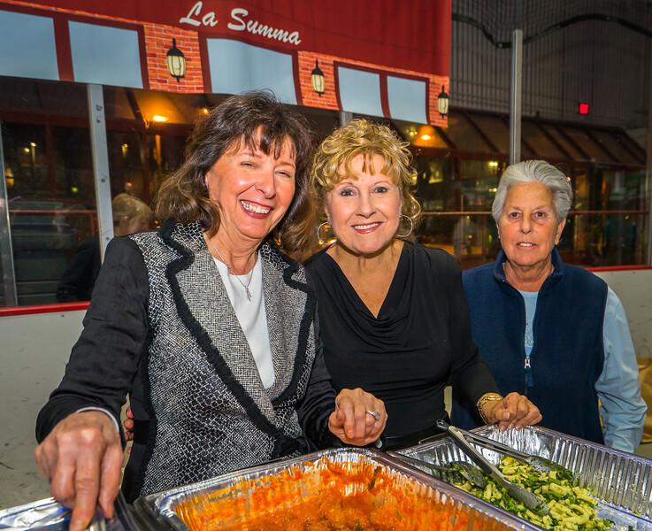 Pam, Barbara and Marie from La Summa