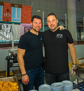Giancarlo and Massimo from Aria Trattoria