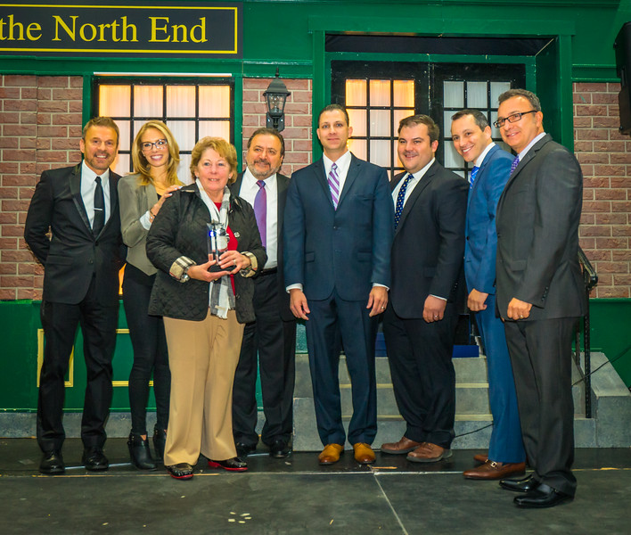 Angela Menino is honored at 2015 Taste of the North End