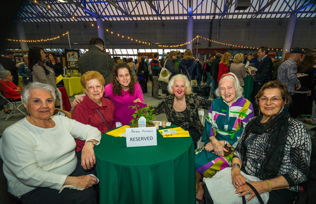 Angie, Barbara, Karel, Michele, Rosemary and Gloria