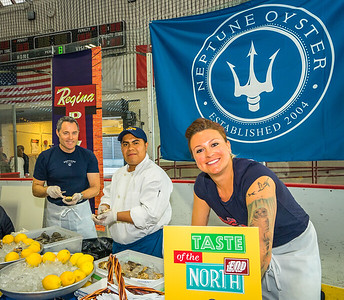 Jeff, Armalis and Ann from Neptune Oyster