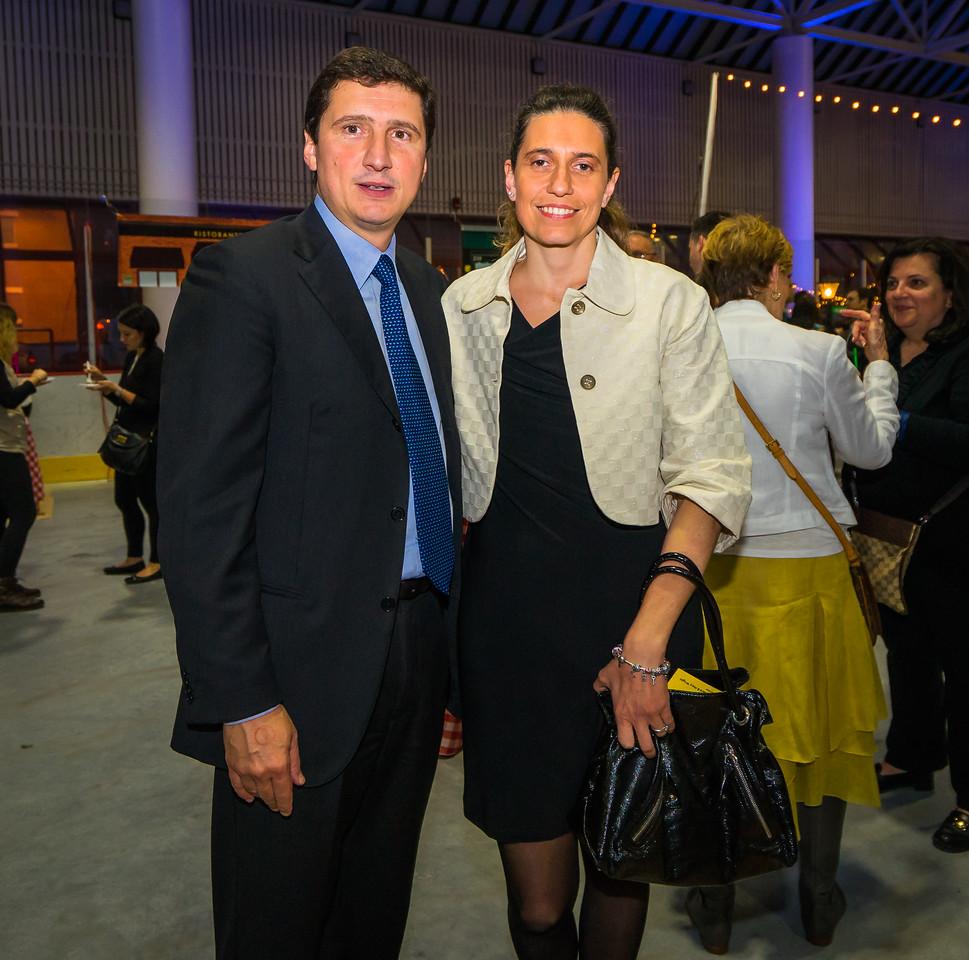 Consol General of Italy, Nicola De Santis and his wife