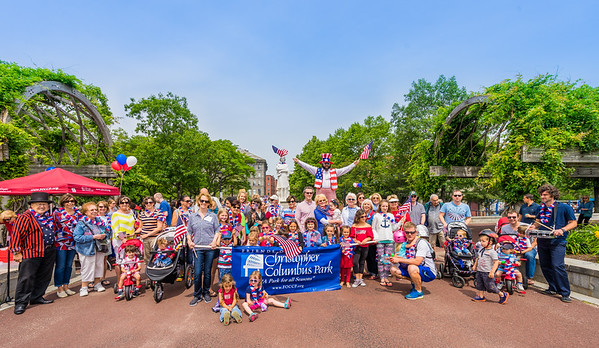 2015-06   Independence Day at Christopher Columbus Park