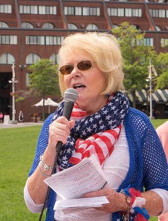 FOCCP President Joanne Hayes-Rines