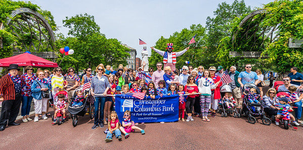 Huge crowd, of all ages, at the 2015 Independence Day Celebration