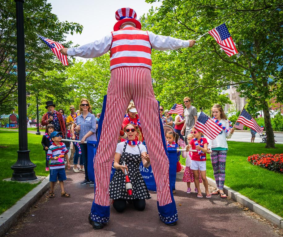 Juggling under Uncle Sam