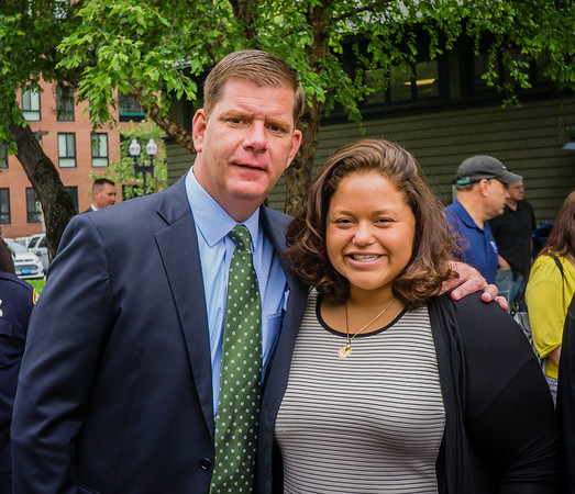 Mayor Marty Walsh announces new appointment of Neighborhood Coordinator Maria Lanza