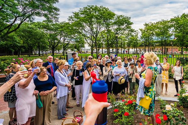 2015-07   Celebrating MaryAnn Esparo at Rose Garden