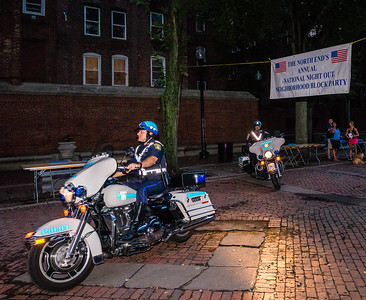 Transit Police at North End National Night Out