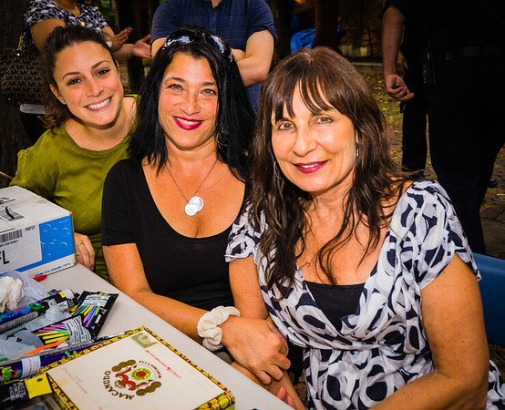 (L-R) Maria, Karen and Kathy from North End Against Drugs