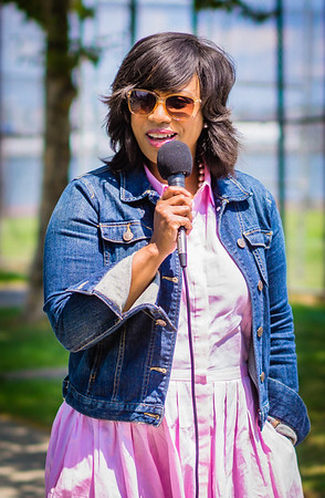 City Councilor Ayanna Pressley