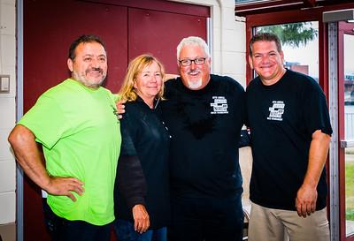TONE Founder Donato Frattaroli, Ann and Bob Lutz, President of the Mass. Restaurant Assoc. and Bocce Organizer Chris Zizza of C&R Flooring